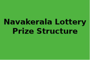 Nava Kerala Lottery Prize Structure