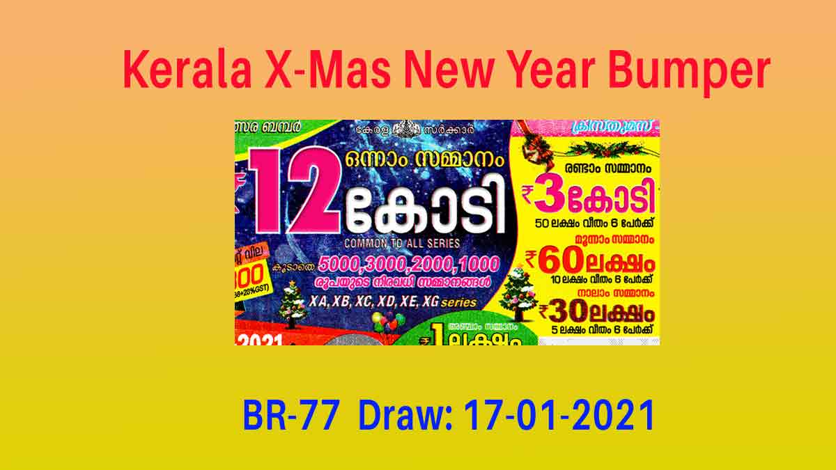 New Year Bumper BR77 Result