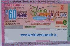 Kerala lottery sthreesakthi